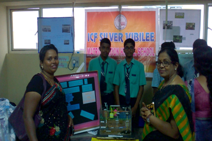 ICF Silver Jubilee Matriculation Higher Secondary School-Science Exhibition