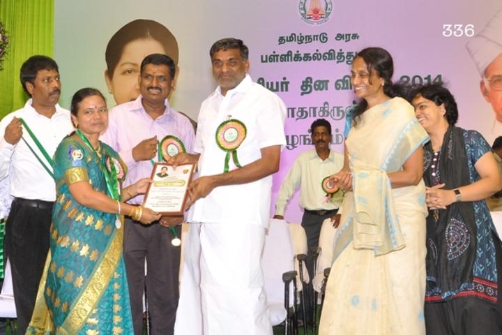 Jaigopal Garodia Mariculation Higher Secondary School-Best Teacher Award