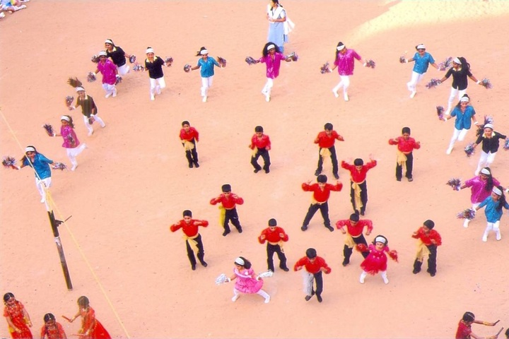 Jaigopal Garodia Mariculation Higher Secondary School-Sports Day