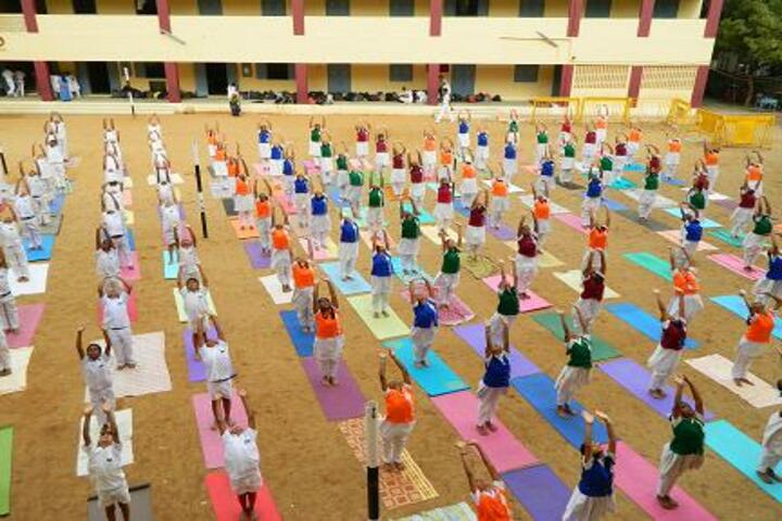 Jaigopal Garodia Mariculation Higher Secondary School-Yoga