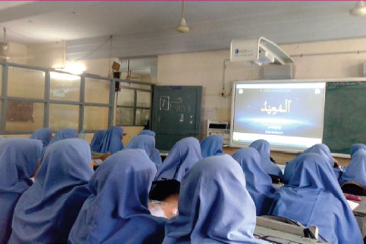 JM Matriculation School-LCD Audio Education
