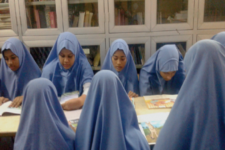 JM Matriculation School-Library