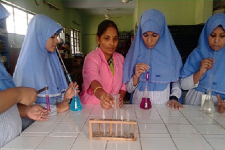 JM Matriculation School-Science Lab