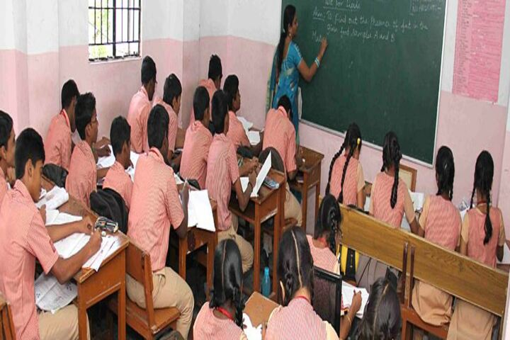 M P Aanandh Matriculation Higher Secondary School-Classroom