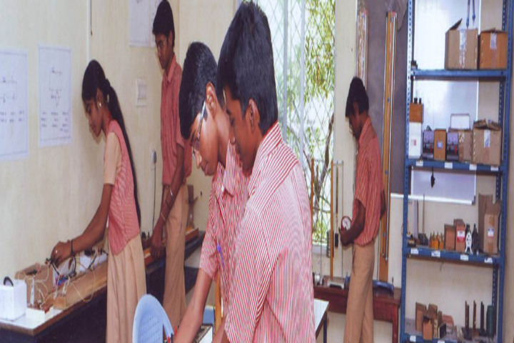M P Aanandh Matriculation Higher Secondary School-Language Lab