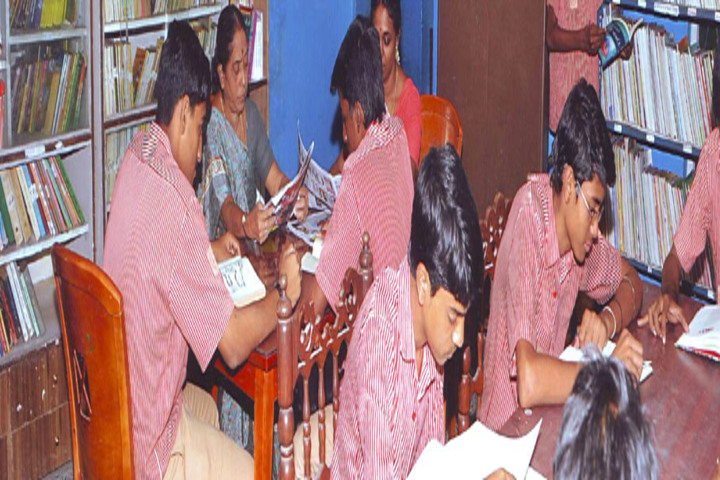 M P Aanandh Matriculation Higher Secondary School-Library