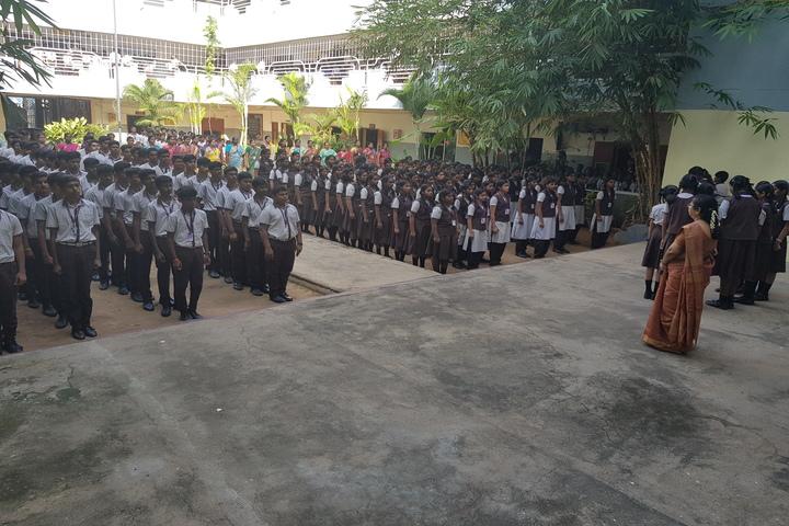 Shri A Ganesan Matriculation Higher Secondary School-Assembly