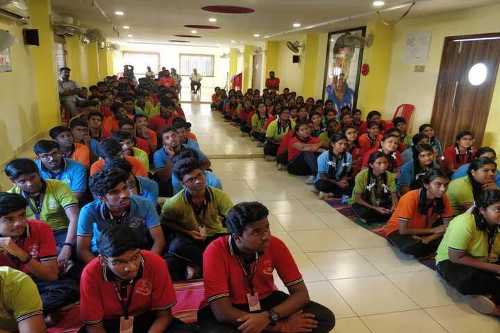 Shri A Ganesan Matriculation Higher Secondary School-Auditorium