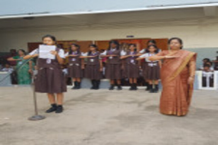 Shri A Ganesan Matriculation Higher Secondary School-Consistitution Pledge