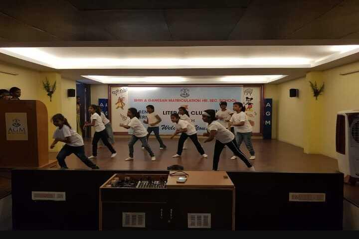 Shri A Ganesan Matriculation Higher Secondary School-Dance Competition