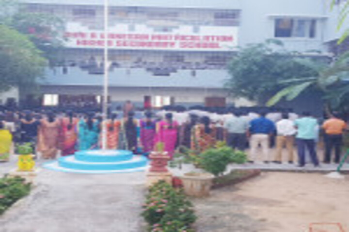 Shri A Ganesan Matriculation Higher Secondary School-Independence Day
