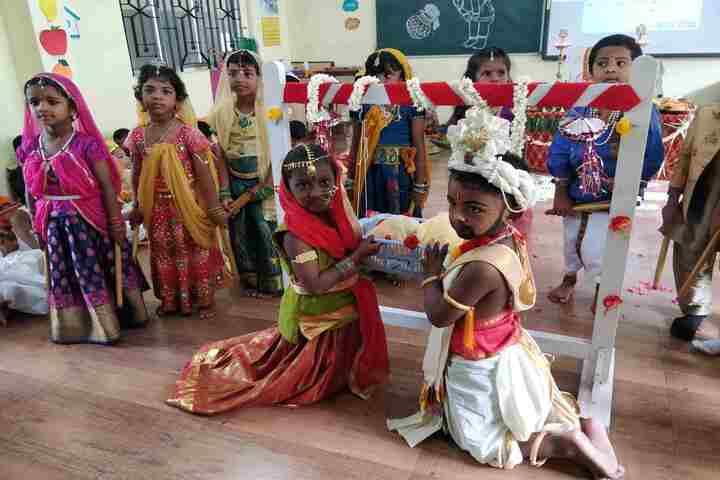 Shri A Ganesan Matriculation Higher Secondary School-Janamastami Celebrations
