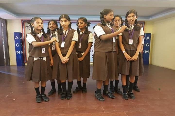 Shri A Ganesan Matriculation Higher Secondary School-Music Competition