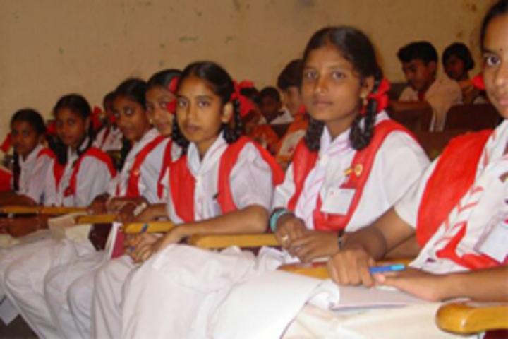 MKM Matriculation High Secondary School-Junior Red Cross