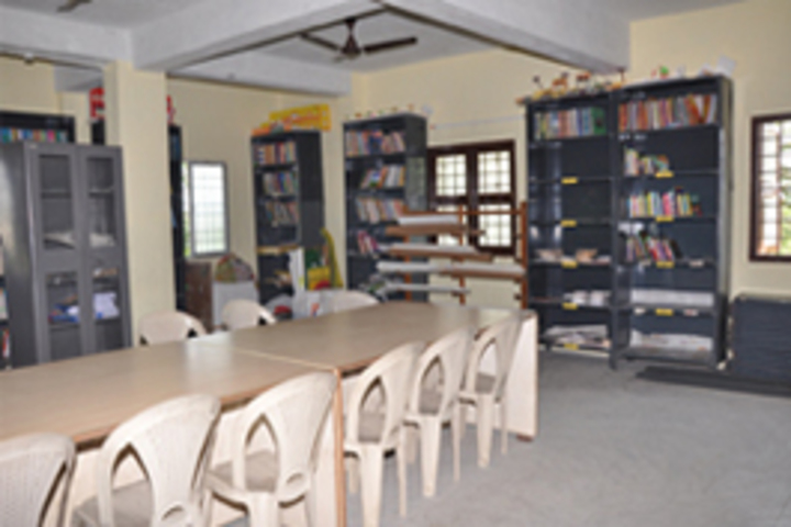 MKM Matriculation High Secondary School-Library