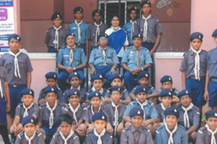 MKM Matriculation High Secondary School-Scouts and Guides