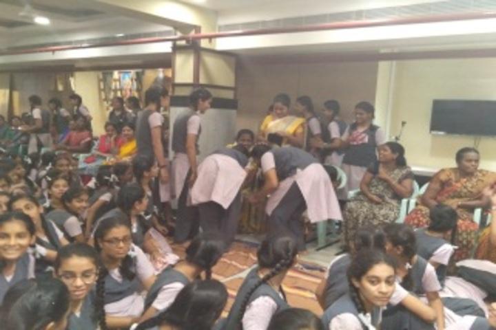 Shri Sanatana Dharma Vidyalaya Matriculation Higher Secondary School-Gurupurnima Celebrations