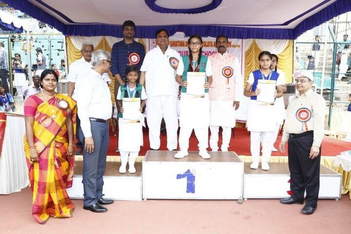 Shri Sanatana Dharma Vidyalaya Matriculation Higher Secondary School-Sports Champions
