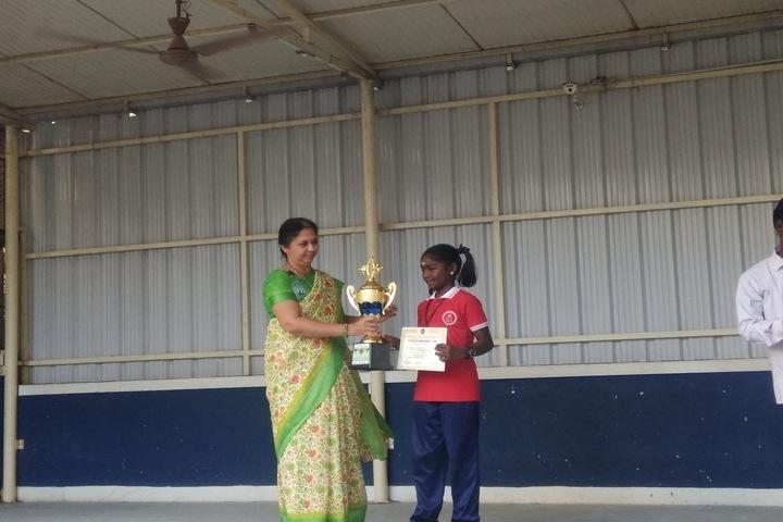 Sindhi Model Matriculation Higher Secondary School-Awards