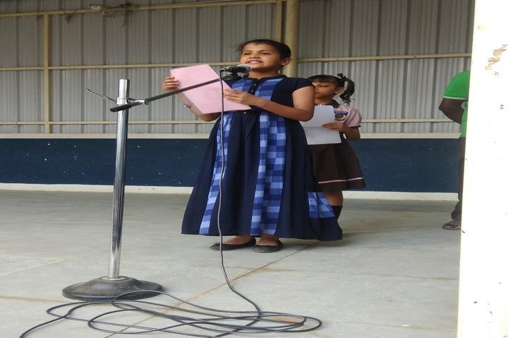 Sindhi Model Matriculation Higher Secondary School-Student Speech