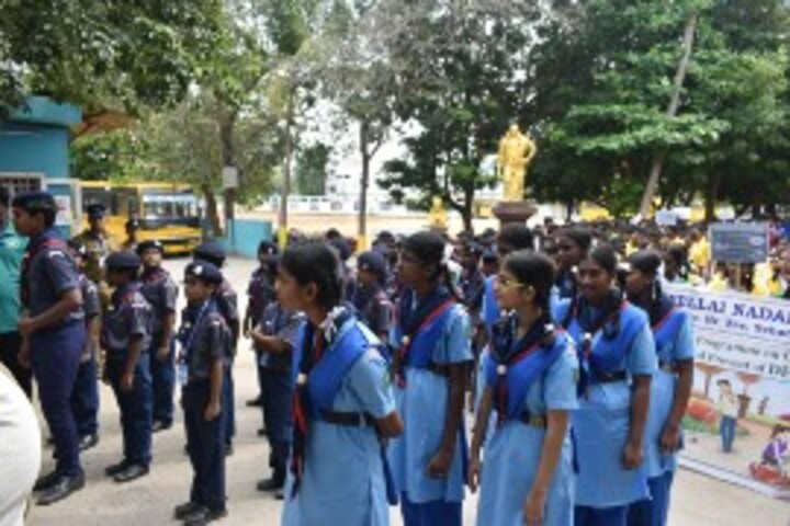 Nellai Nadar Matriculation Higher Secondary School-Scouts and Guide
