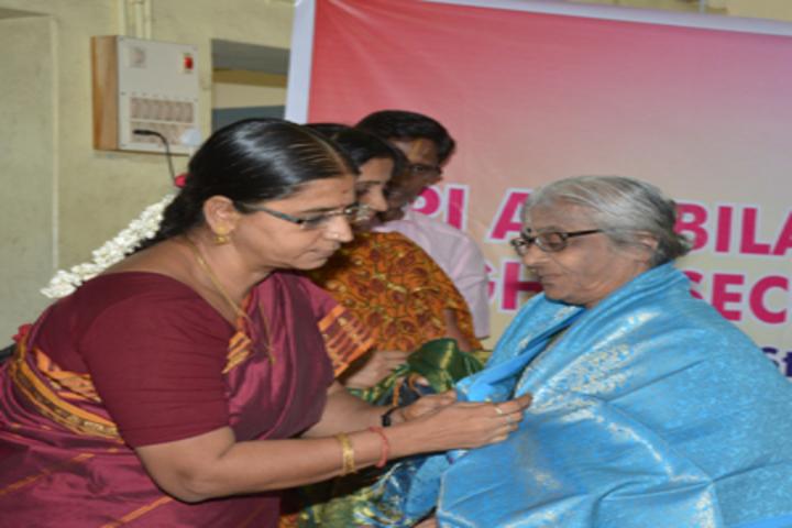 Sri Ahobila Math Oriential Higher Secondary School-Felicitation