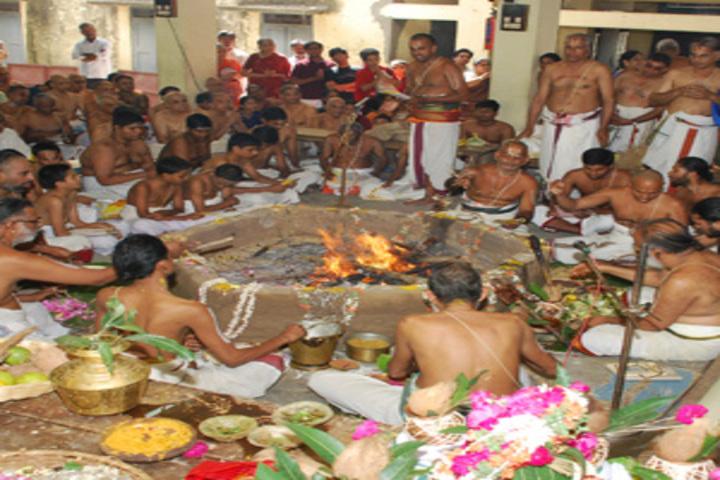 Sri Ahobila Math Oriential Higher Secondary School-Festival Celebrations