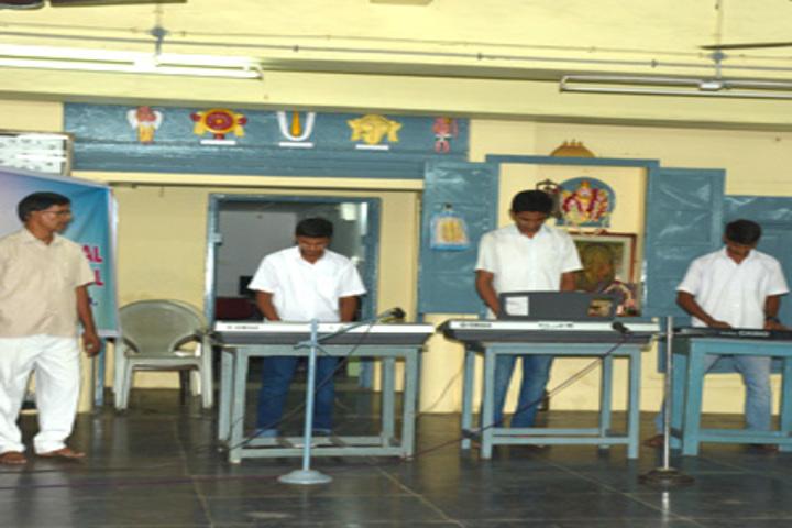 Sri Ahobila Math Oriential Higher Secondary School-Music