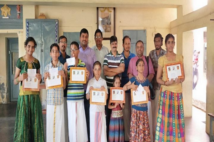 Sri Ahobila Math Oriential Higher Secondary School-Sanskrit Competitions