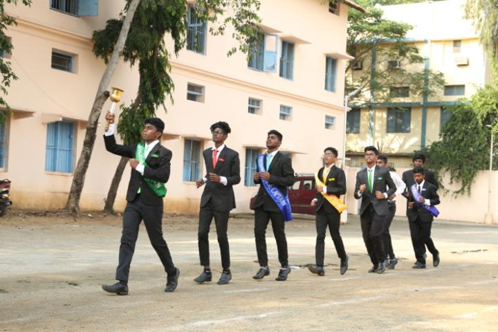 P S Matriculation Higher Secondary School-Annual Sports Meet