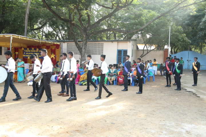 P S Matriculation Higher Secondary School-Band Troop