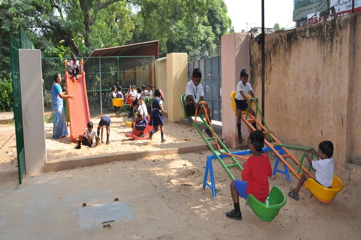 P S Matriculation Higher Secondary School-Kindergarten Playground