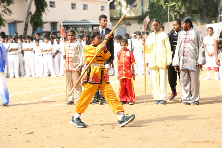 P S Matriculation Higher Secondary School-Sports Day
