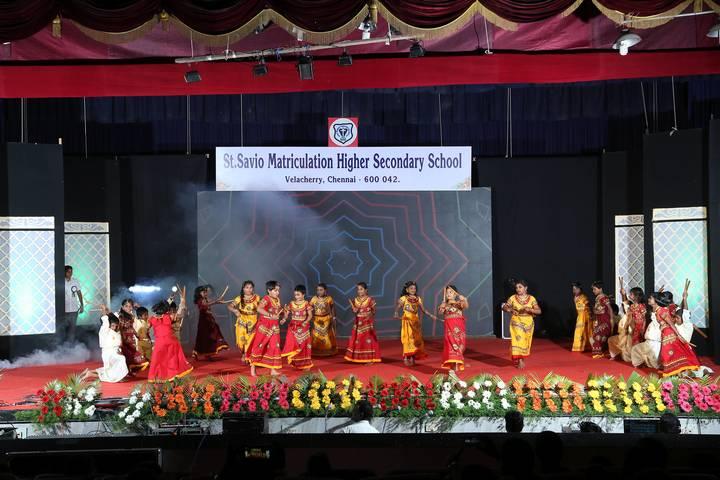St Savio Matriculation Higher Secondary School-Annual Day