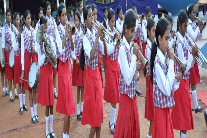 St Marys Matriculation Girls Higher Secondary School-School Band