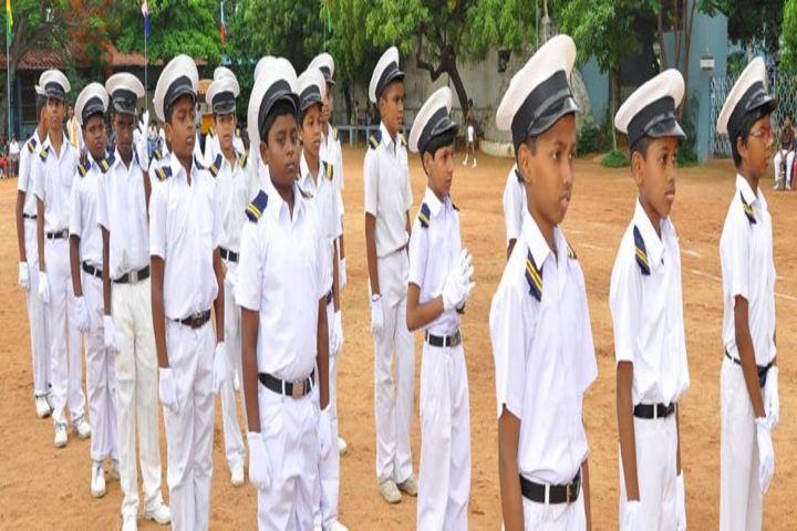 St Marys Matriculation Boys Higher Secondary School-NCC