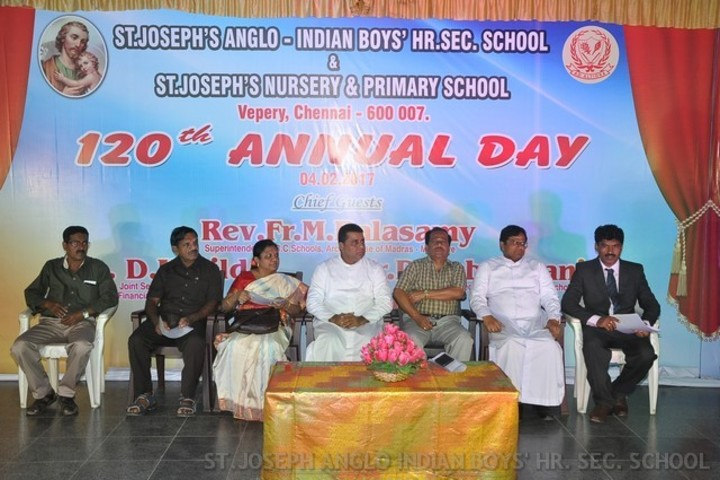 St Joseph Anglo Indian Boys Higher Seconday School-Annual Day