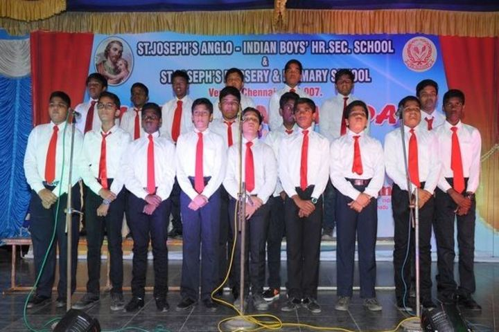 St Joseph Anglo Indian Boys Higher Seconday School-Singing