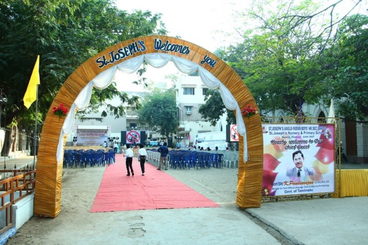 St Joseph Anglo Indian Boys Higher Seconday School-View of Entrance