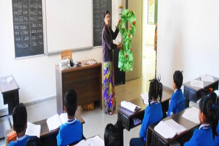 Jain Public School Korba-Classroom