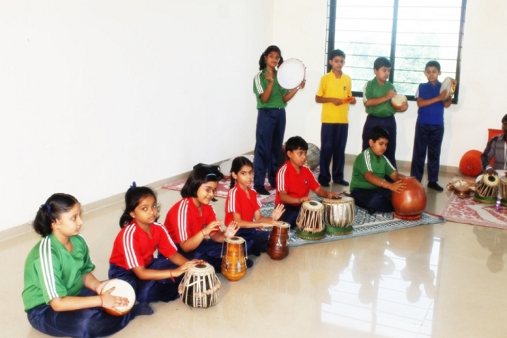 Jain Public School Korba-Music-Room