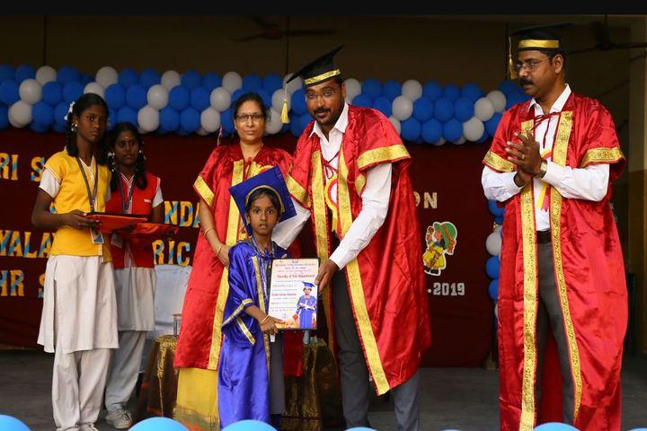 Sri Sayee Vivekananda Vidyalaya Matriculation Higher Secondary School-Achievement