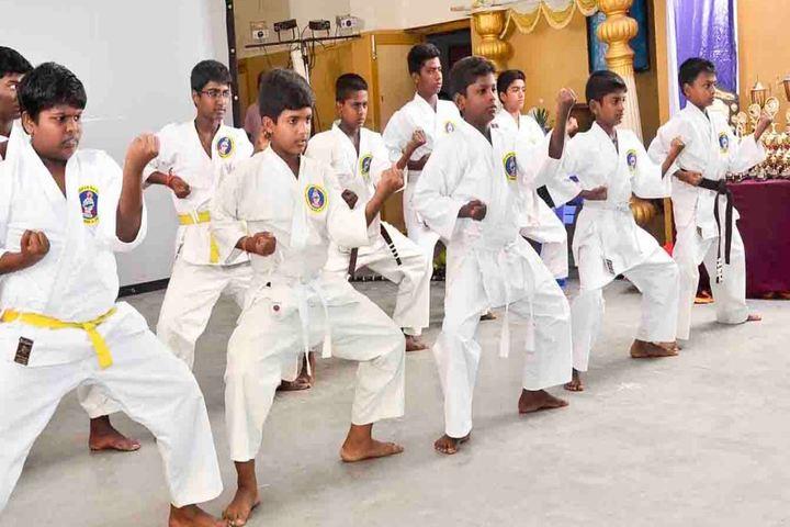 Sri Sayee Vivekananda Vidyalaya Matriculation Higher Secondary School-Karate
