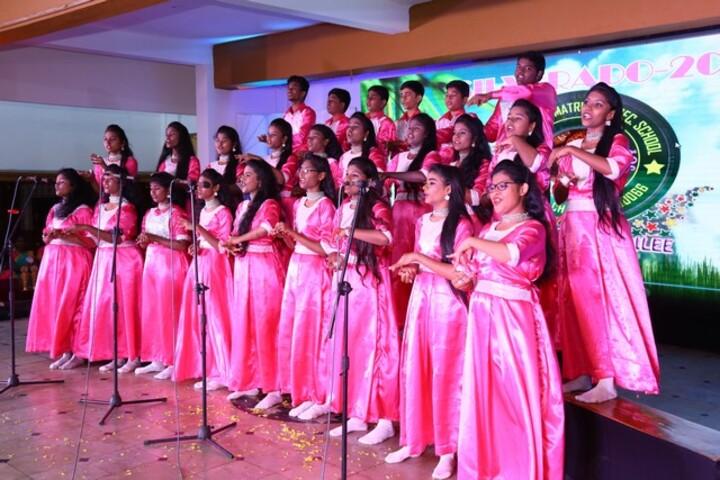 St Antonys Matriculation Higher Secondary School-Group Singing