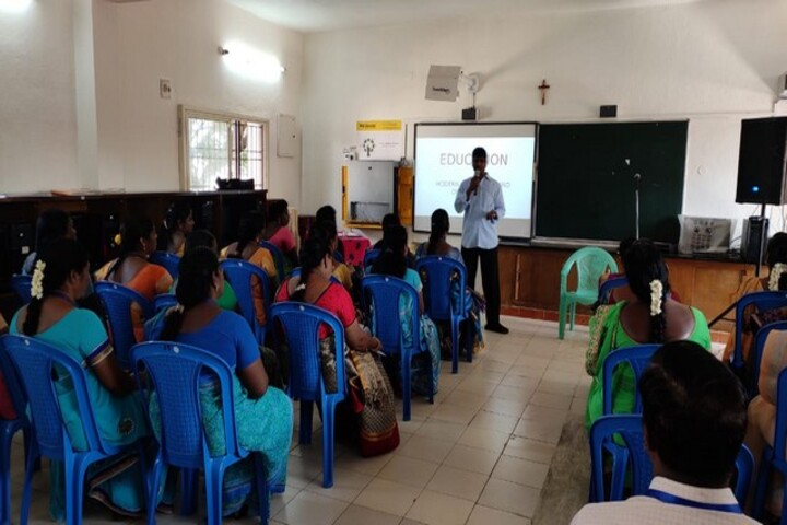 St Antonys Matriculation Higher Secondary School-Seminar