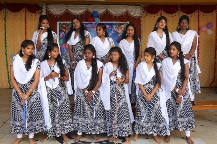 St Antonys Matriculation Higher Secondary School-Singing