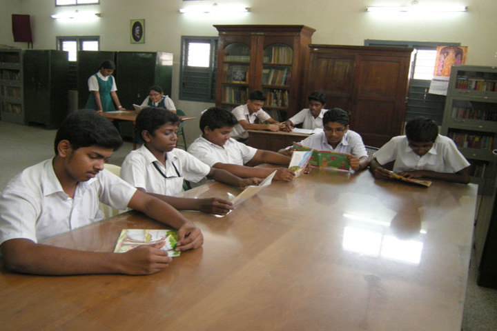 St Anthonys Anglo Indian High School-Library