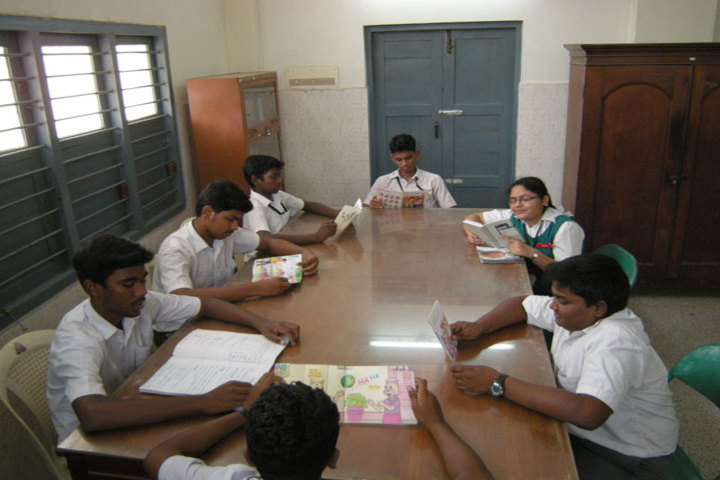 St Anthonys Anglo Indian High School-Study Room
