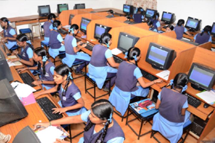 Sri Venkateswara Matriculation Higher Secondary School-IT-Lab