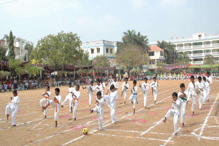 Sri Venkateswara Matriculation Higher Secondary School-Karate